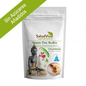 Happy Day Budha con Proteínas (Prebiótico sin Azúcares Añadidos) 350g