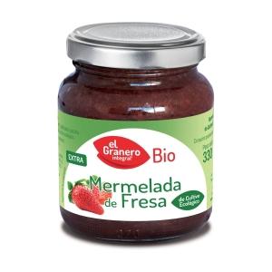 Mermelada de Fresa Bio – El Granero Integral – 330 gr