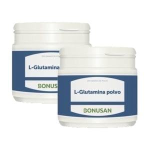 2 Pack L-Glutamina en Polvo – Bonusan – 200 gramos