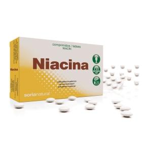 Niacina Retard (Vitamina B3) – Soria Natural – 48 comprimidos