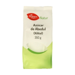 Azúcar de Abedul Xilitol – El Granero Integral – 350 gr