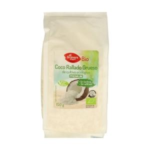 Coco Rallado Grueso Bio – El Granero Integral – 150 gr