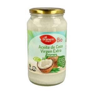 Aceite de coco Virgen Premium – El Granero Integral – 1 litro