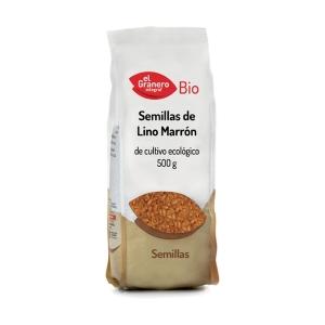 Semillas de Lino Marrón Bio – El Granero Integral – 500 gr
