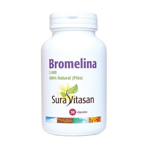 Bromelina 2.400 – Sura Vitasan – 30 capsulas
