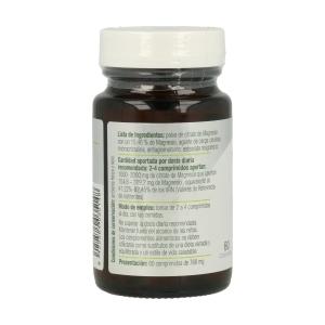 MG 500 – Citrato de magnesio – El Granero Integral – 60 comprimidos
