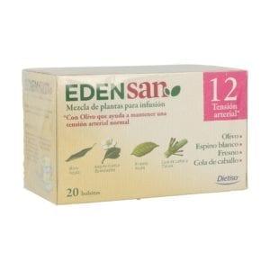 Edensan 12 Hip Infusiones – Dietisa – 20 unidades