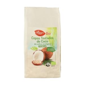 Copos tostados de coco