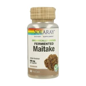 Maitake Fermentado 500mg – Solaray – 60capsulas