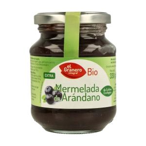 Mermelada de Arándanos Bio – El Granero Integral – 330 gr