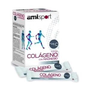 AmlSport Colágeno con Magnesio + Vit C – Ana Maria de la Justicia – 20sobre