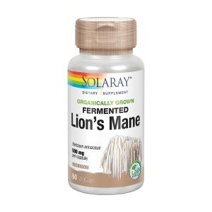 Melena de León Fermentada – Solaray – 60capsulas