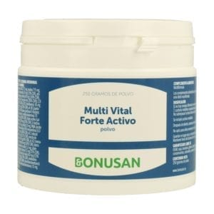 Multi Vital Forte Activo Polvo – Bonusan – 250 gramos