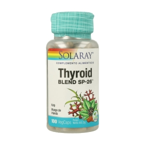 Thyroid Blend SP-26 – Solaray – 100capsulas