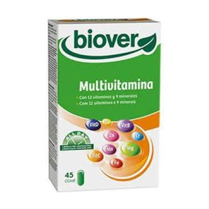 Basic Vitamine – Biover – 45 comprimidos
