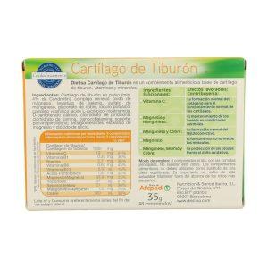 Cartílago de Tiburón – Dietisa – 48 comprimidos