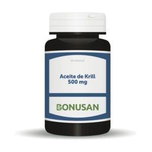 Aceite de Krill 500 mg – Bonusan – 60 cápsulas