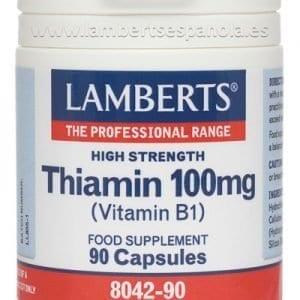 Tiamina o Vitamina B1 100 mg – 90