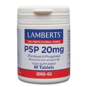 P5P Piridoxal 5 Fosfato o Vitamina B6 en forma activa – 60