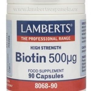 Biotina 500 mcg – 90