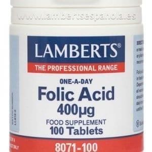 Ácido Fólico 400 mcg un apoyo durante el embarazo – 100