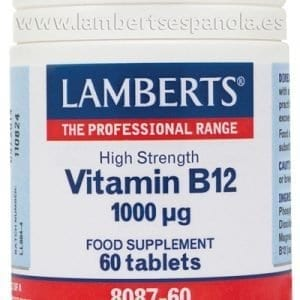 Vitamina B12 1000 mcg como Metilcobalamina – 60