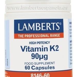 Vitamina K2 90 mcg como Menaquinona-7 (MK-7) – 60