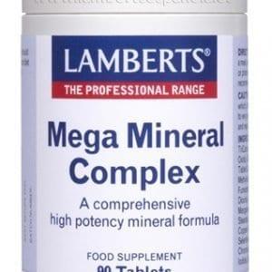 Complejo Mega Mineral de amplio espectro y alta absorción – 90 Tabletas