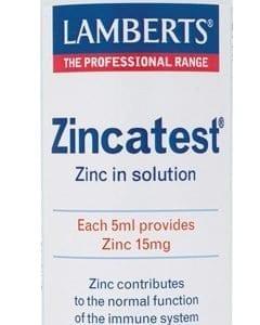 Zincatest®. Zinc liquido en forma de Sulfato. – 100 ml