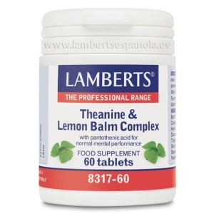 Complejo de L-Teanina 200 mg y Bálsamo de Limón 6000 mg – 60 Tabletas