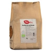 Semillas de Lino Dorado de Cultivo Ecológico – El Granero Integral – 4 kilos