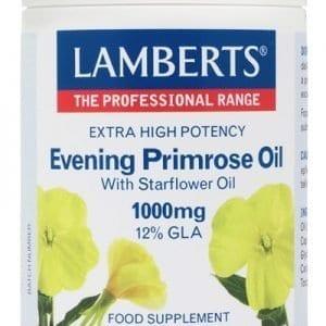 Aceite de Prímula con Borraja 1000 mg con Vitamina E – 90 Cápsulas