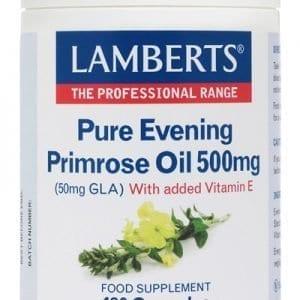 Aceite de Prímula u Onagra Puro 500 mg con Vitamina E – 180 Cápsulas
