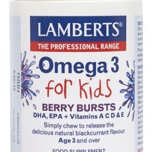 Omega 3 para Niños con DHA 100 mg y EPA 14 mg – 100 Cápsulas