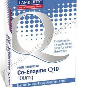 Co-Enzima Q10 100 mg, Ubiquinona o CoQ10 con 60 cápsulas – 60 Cápsulas