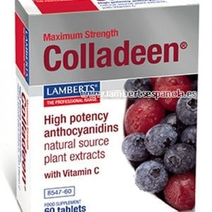 Colladeen® que aporta 160 mg de antocianidinas de uva y mirtilo – 60 Tabletas