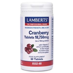 Arándano Rojo 18.750 mg – 60 Tabletas