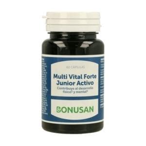 Multi Vital Forte Junior Activo – Bonusan – 60 cápsulas