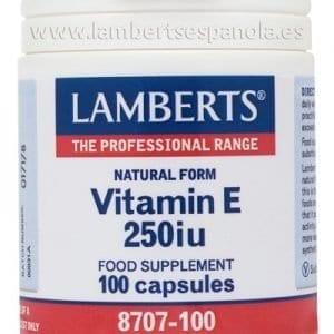 Vitamina E Natural 250 UI (168 mg) – 100
