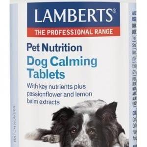 Tabletas calmantes para perros – Lamberts – 90 Tabletas