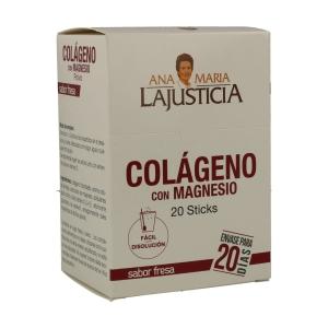 Colágeno con magnesio – Ana Maria de la Justicia – 20sobres 5gr