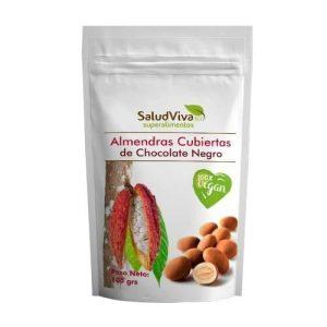 Almendras Cubiertas de Chocolate Negro 100g