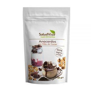 Anacardos con Nibs de Cacao ECO 80g