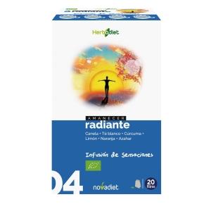 Amanecer Radiante Infusion Bio – Nova Diet – 20 filtros