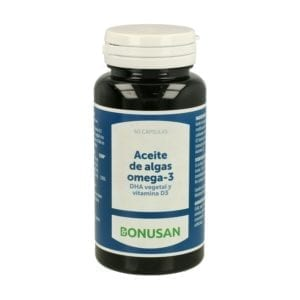 Aceite de Algas Omega 3 – Bonusan – 60 perlas