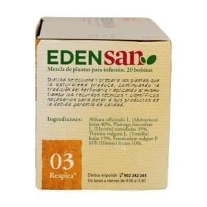 Edensan 03 Bto Infusiones – Dietisa – 20 unidades