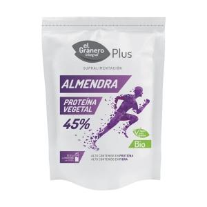 Proteína vegetal de almendra