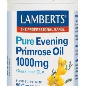 Aceite de Prímula u Onagra Puro 1000 mg con Vitamina E – 90 Cápsulas