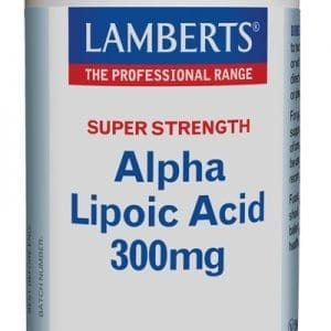 Ácido Alfa Lipoico 300 mg, ALA o Ácido Tióctico – 90 Tabletas
