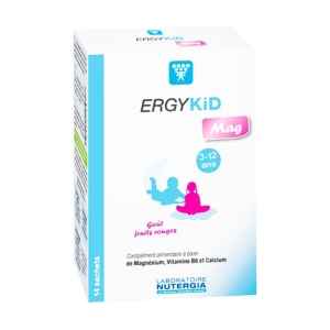ErgyKid Mag – Nutergia – 14 sobres